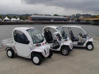 Matra est le fournisseur officiel de voitures électriques pour l'Armada 2008