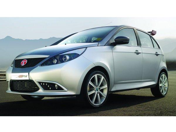 New Delhi 2012 : Tata Indica Vista S2 Concept