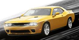 La Dodge Challenger by SMS : un texto à plus de 700 ch