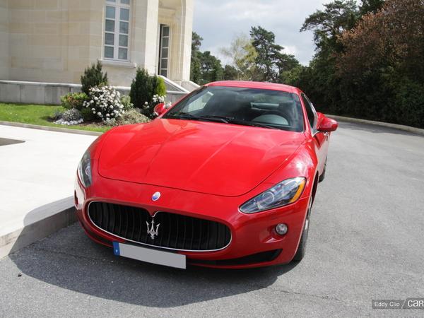 Photos du jour : Maserati Granturismo S