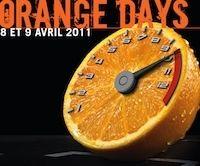 KTM Orange Days 2011: du 8 au 9 avril.