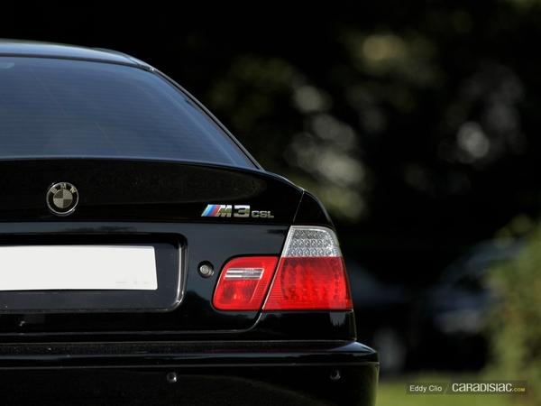 Photos du jour : BMW M3 CSL