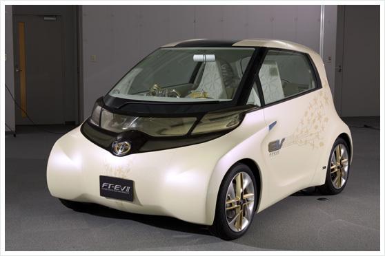 Tokyo 2009 : Concept FT-EV II, l'IQ électrique change de forme (ajout 29 photos)