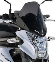 "Kawasaki ER-6N: saute-vent ""sport"" by Ermax"