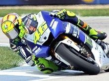 Moto GP - Indianapolis J.1: Valentino Rossi est un studieux sixième