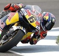 Moto GP - Indianapolis J.2: Stefan Bradl tombe de haut