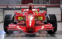 La F2007 est en piste aujourd'hui