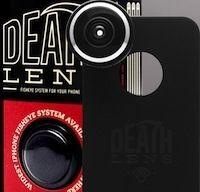 Deathlens:  coque pour iPhone avec objectif Fish-Eye
