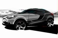 Salon de Genève 2007 : Hyundai HED-4 Concept, premier sketch officieux