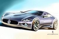 "Maserati ""Coupé"" by Pininfarina : les premiers sketchs !!!"