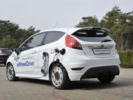 (Vidéo) La Ford Fiesta eWheelDrive