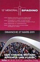 Calendrier : 27 mars, le 12ième Memorial de Spadino