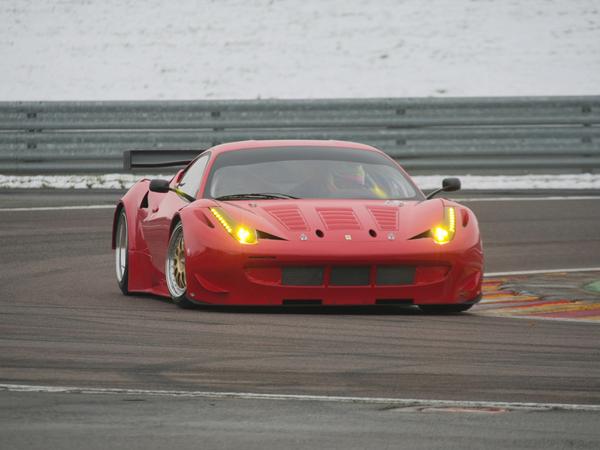 Nouvelle Ferrari 458 GT2: cela sera GTC (+ de nouvelles photos)