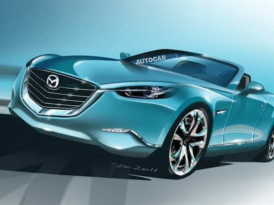 Future Mazda MX-5: vive la propulsion!