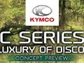Kymco X-Town 125 Exclusive : nouveau coloris Blueberry