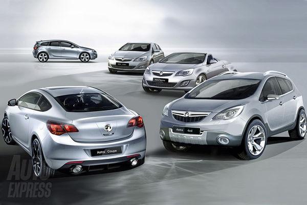 Opel Astra : toute la future famille en détail