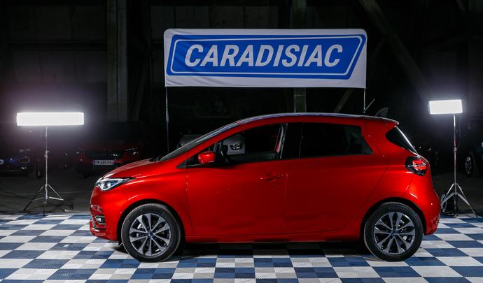 Renault Zoé ZE50: très prisée - Salon de l'auto Caradisiac