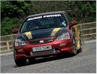 Honda Civic Type R Sumo Power, une bien belle peinture !!!
