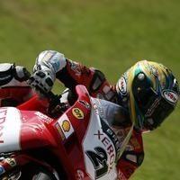 Superbike: Brands Hatch D.1: Bayliss a encore une marge de progression.