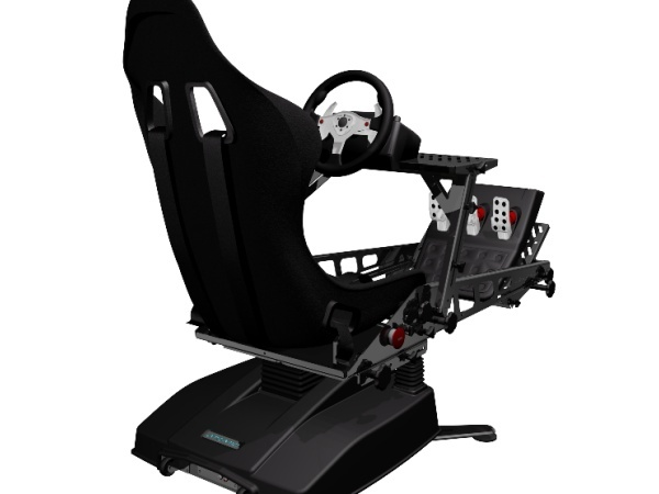 essai de l 39 atomic joyride baquet v rins pour simulateur auto. Black Bedroom Furniture Sets. Home Design Ideas