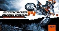 KTM: tout le cross 2014 déjà en ligne