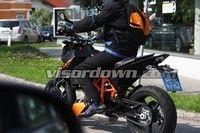La future KTM Duke 690R en balade...