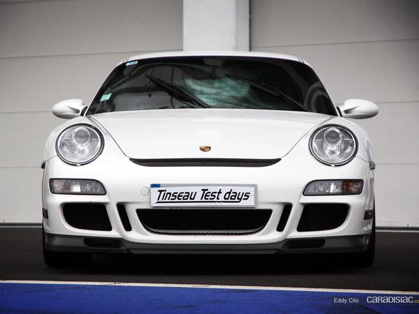 Photos du jour : Porsche 911 997 GT3 RS Mk1 (Tinseau Test Day)