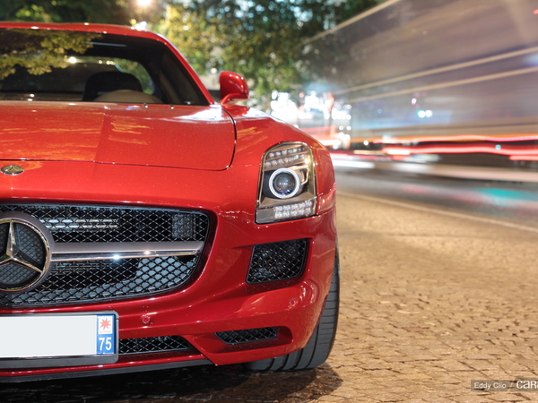 Photos du jour : Mercedes SLS Amg