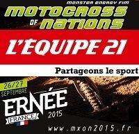 TV : le MX US, MXGP de France et le MXDN en direct!