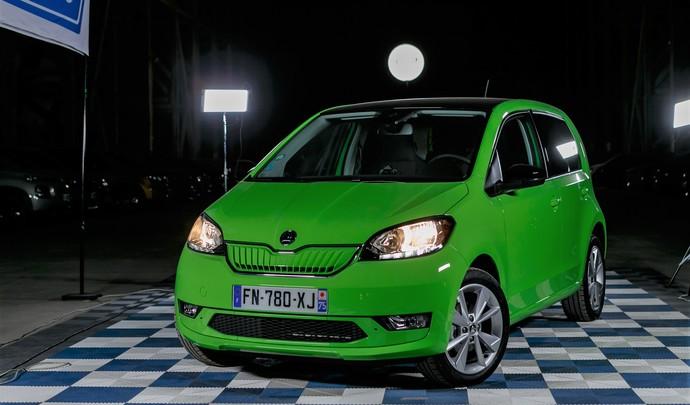 Skoda Citigo e-iV : l'électrique la moins chère - Salon de l'auto Caradisiac