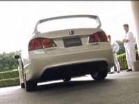 [Vidéo]: Jenson Button teste la nouvelle Civic Type-R.