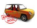 L'auto idéale du Père Noël...