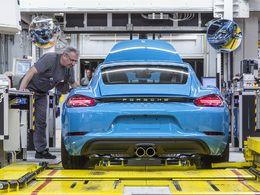 Porsche : 240 Cayman assemblés par jour