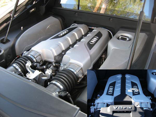 Audi R8 V10 : les preuves en images