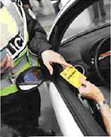 Des cartons jaunes pour les imprudents sur la route