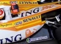 F1 Renault : les stickers MegaFon grossiront pour les 2 dernières courses