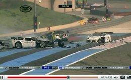 [vidéo] : le multi crash du week-end en FIA-GT3