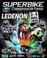 Championnat de France Superbike : La reprise à Ledenon les 3 et 4 avril