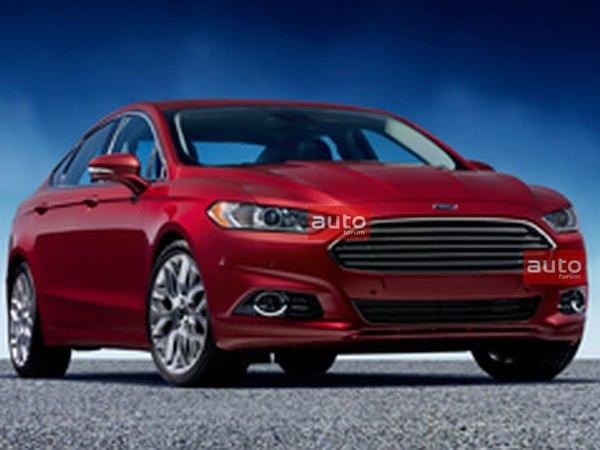 Détroit 2012 : la Ford Mondeo/Fusion fuit encore