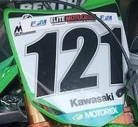 La 450 Kawasaki de Xavier Boog