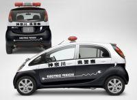 La Mitsubishi i MiEV électrique testée par la police !