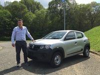 Exclusif - Première vidéo Renault Kwid - Découvrez les premières images de l'essai en live