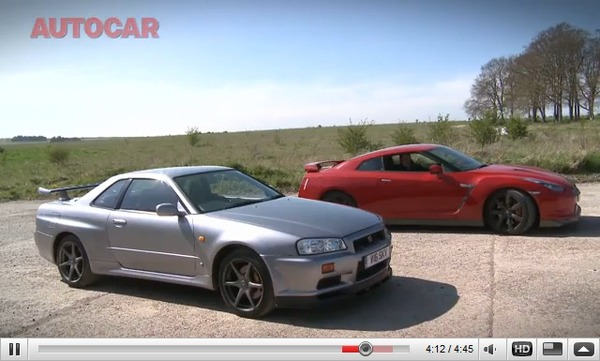 Réveil Auto : GT-R contre GT-R, la R35 rencontre la R34