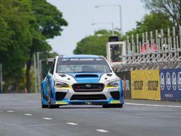Le record du tour de l'île de Man en auto battu par une Subaru Impreza