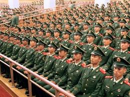 """La fin du """"bling bling"""" pour les militaires chinois"""