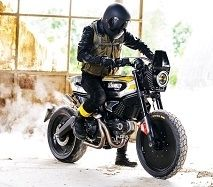 Vidéo - Ducati: une Scrambler changée en SC-Rumble
