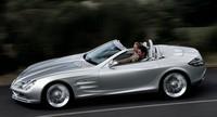 Mercedes McLaren SLR Roadster, c'est oui !