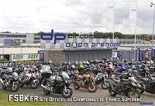 FSBK: Reprise du Championnat de France Superbike sur le circuit de Dijon-Prenois
