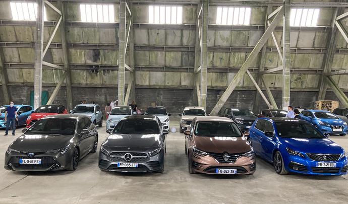 Que valent les 5 compactes les plus vendues en 2020 : Peugeot 308, Renault Mégane, Mercedes Classe A, Toyota Corolla, Citroën C4 Cactus