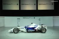 Présentation de la nouvelle BMW Sauber à Valence